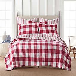 Levtex Home Camden 2-Piece Reversible Twin Quilt Set in Red