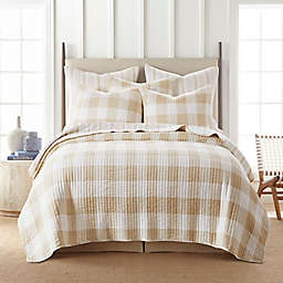 Levtex Home Camden 2-Piece Reversible Twin Quilt Set in Taupe