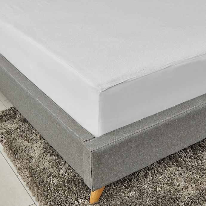 Alternate image 1 for Nestwell™ Soft Terry Fitted Mattress Cover