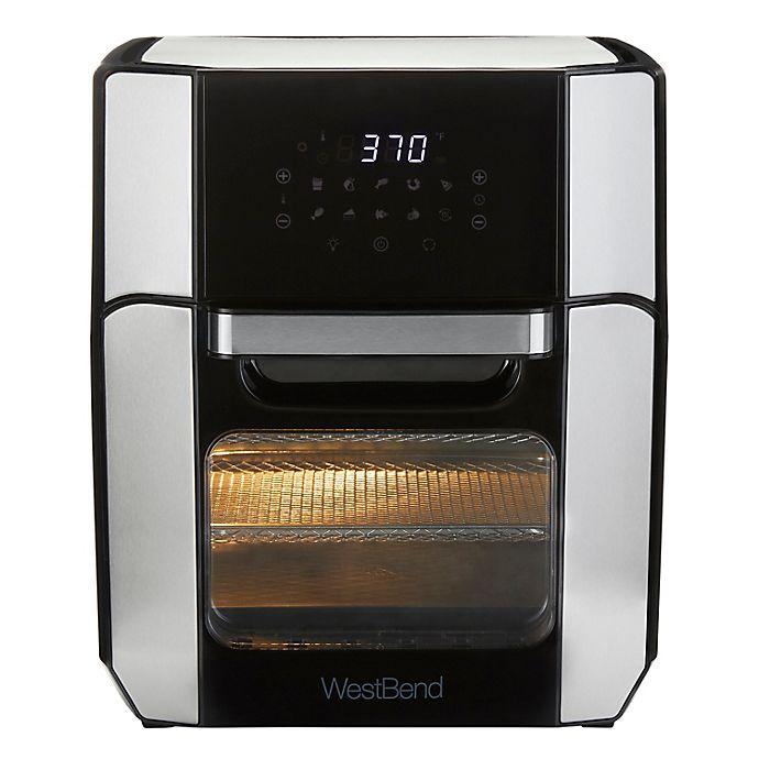 Alternate image 1 for West Bend 12.6 qt XL Digital Air Fryer Oven in Silver/Black