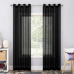 No. 918 Calypso Voile Sheer Grommet Curtain Panel