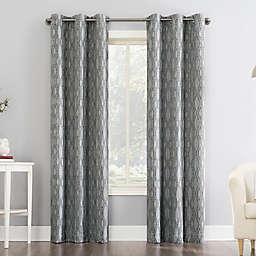 Sun Zero® Houston Tonal Ikat Thermal Extreme Total Blackout Curtain Panel (Single)