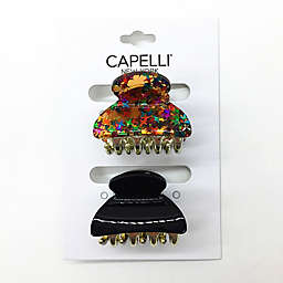 Capelli® New York 2-Pack Confetti Jaw Clips