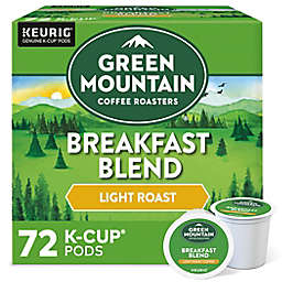 Green Mountain Coffee® Breakfast Blend Coffee Keurig® K-Cup® Pods 72-Count