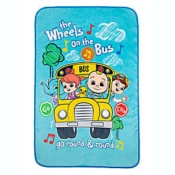 Cocomelon Press n Play Musical Toddler Blanket
