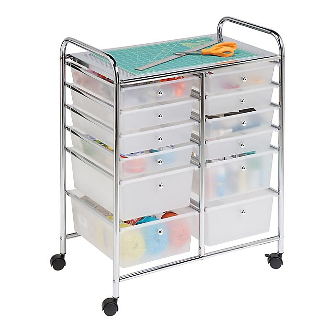 Alternate image 1 for Honey-Can-Do® Studio Organizer Cart with Drawers