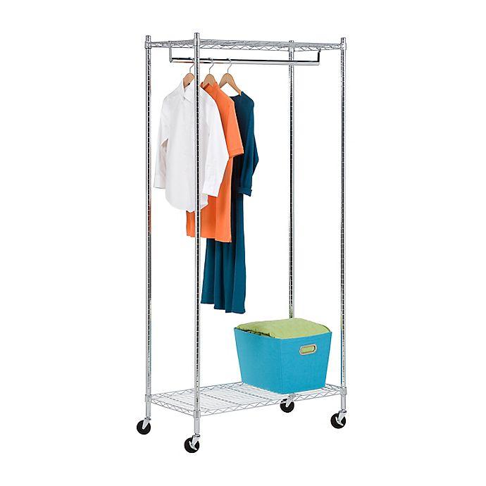 Alternate image 1 for Honey-Can-Do® Garment Rack in Chrome