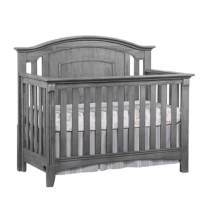 Alternate image 1 for Oxford Baby Willowbrook 4-in-1 Convertible Crib