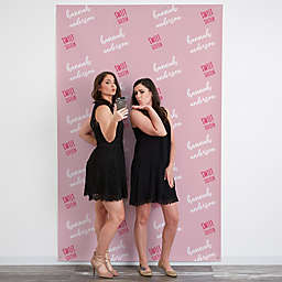 Step & Repeat 58-Inch x 90-Inch Photo Backdrop