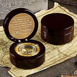 Personalized Embrace the Future Navigator Compass