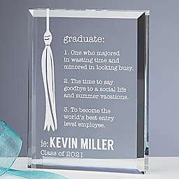 Definition of a Graduate Personalized Keepsake