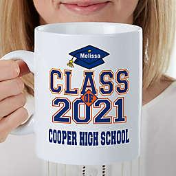 Cheers to the Graduate Personalized 30 Oz. Coffee Mug