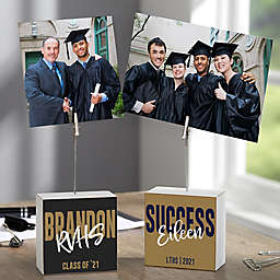 Class Of... Personalized Photo Clip Block