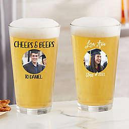 Graduation Personalized Photo Glassware Collection