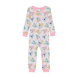 Care Bears™ Footless Pajama in Pink