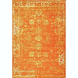 Unique Loom Sofia 6' x 9' Area Rug in Orange