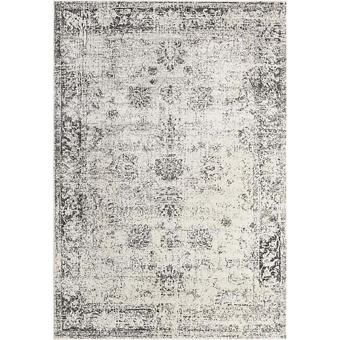 Alternate image 1 for Unique Loom Casino Sofia Power-Loomed Rug in Grey
