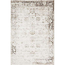 Unique Loom Casino Sofia 6' x 9' Area Rug in Beige
