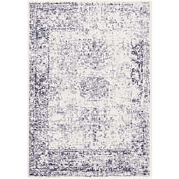 """Unique Loom Casino Sofia 2'2"""" x 3' Power-Loomed Accent Rug in Grey"""