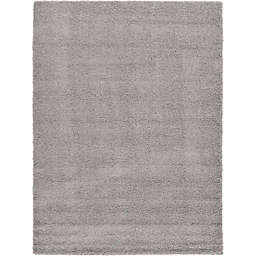 Unique Loom Solid Shag Powerloomed Rug