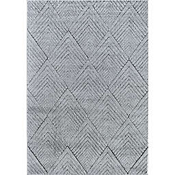 Rugs America Cadence Soapstone 6' x 9' Area Rug in Grey