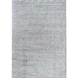 Rugs America Cadence Quartzite 6' x 9' Area Rug in Grey