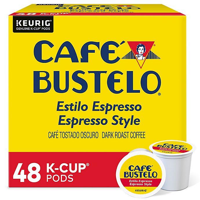 Alternate image 1 for Café Bustelo® Espresso Roast Style Coffee Keurig® K-Cup® Pods 48-Count
