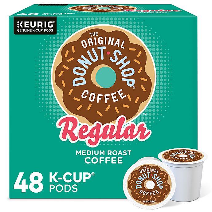 Alternate image 1 for The Original Donut Shop® Regular Coffee Value Pack Keurig® K-Cup® Pods 48-Count