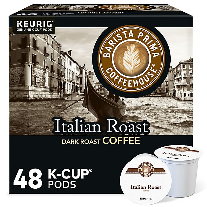 Alternate image 1 for Barista Prima Coffeehouse® Italian Roast Coffee Value Pack Keurig® K-Cup® Pods 48-Count
