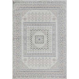 Rugs America Hailey Perspective 5' x 7' Area Rug in Beige/Grey