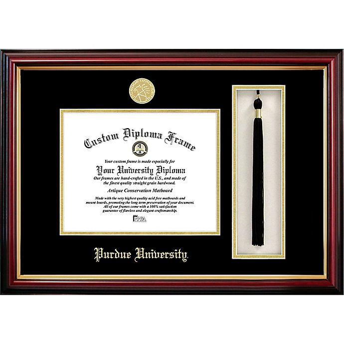 Alternate image 1 for Purdue University School Seal Graduation Tassel and Diploma Frame