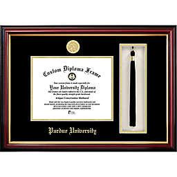Purdue University School Seal Graduation Tassel and Diploma Frame