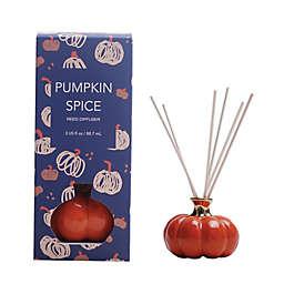 White Pumpkin Reed Diffuser in Purple