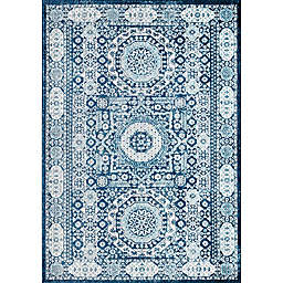 Rugs America Hailey Riviera Azure 5' x 7' Area Rug in Blue