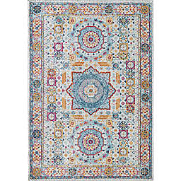 Rugs America Hailey Constellation 8' x 10' Area Rug in Grey