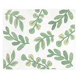 Sweet JoJo Designs® Botanical Leaf 30-Inch x 36-Inch Accent Rug in Green/White