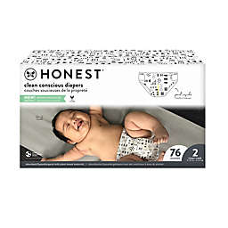 The Honest Company® Pattern Play Stage 2 76-Count Club Box Disposable Diapers