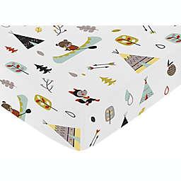 Sweet Jojo Designs® Outdoor Adventure Fitted Crib Sheet