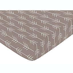Sweet Jojo Designs® Outdoor Adventure Arrow Fitted Crib Sheet