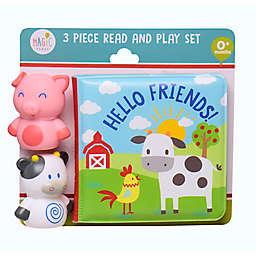 Magic Years® 3-Piece Pig & Cow Bath Set
