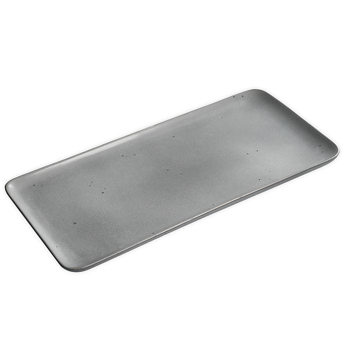 Alternate image 1 for Our Table™ Landon 13-Inch Rectangular Tray in Truffle