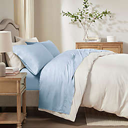 Sleep Philosophy Rayon Made From Bamboo Full Sheet Set in Blue
