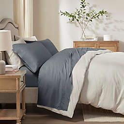 Sleep Philosophy Rayon Made From Bamboo King Sheet Set in Charcoal