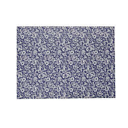 Wild Sage™ Shelby Paisley Laminated Placemat in Blue