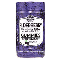 Country Farms 60-Count Berry Flavor Elderberry with Vitamin C and Zinc Gummies