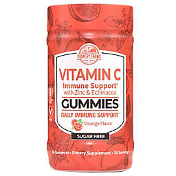 Country Farms 60-Count Orange Flavor Vitamin C Immune Support with Zinc and Echinacea Gummies