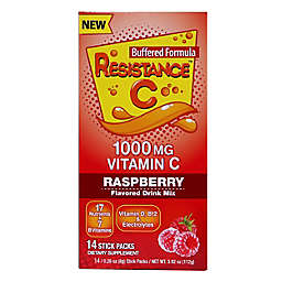 Resistance C 14-Count Immune Health Support Sticks with Vitamin C in Rasberry