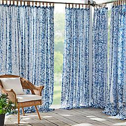 Elrene Home Fashions Verena Tab Top Sheer Indoor/Outdoor Curtain Panel (Single)