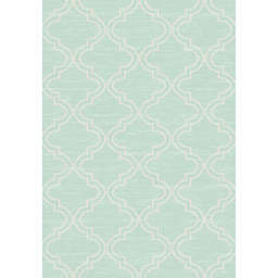 Thalia Trellis Indoor/Outdoor Rug in Blue