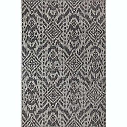 Global Caravan Lea Indoor/Outdoor Rug in Grey
